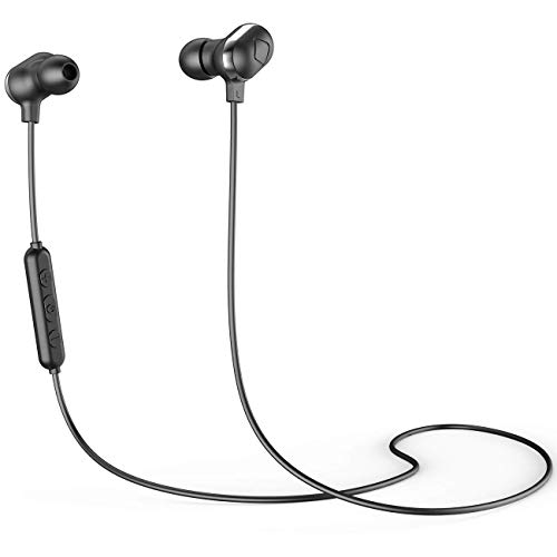 Bluetooth Headphones,Sports Wireless Earbuds Bluetooth 5.0, DSP Noise Cancelling 12H Battery