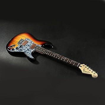 Derulo - Profesional Aliso Stratocaster Guitarra eléctrica con funda ...
