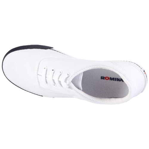 De Blanco Romika 000 Soling weiss 20001 Unisex Lona 70 Zapatillas CqOqXt