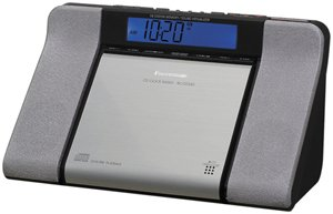 Panasonic CD Clock Radio