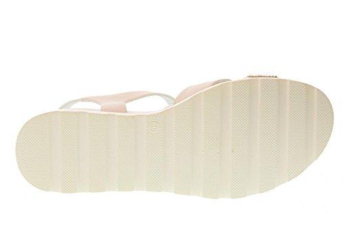 Jo White Liu Frau Weiß Niedrige Schuhe 0092100 L3A2 Sandale 00391 Girl awddOFq1