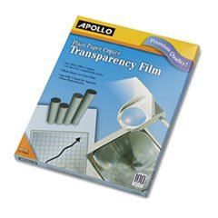 ** Laser Copier Transparency Film, Letter, Clear, 100/Box **