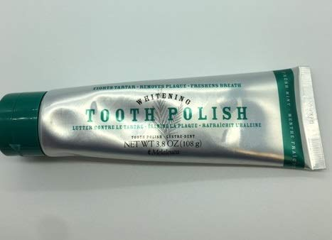 Melaleuca Whitening Tooth Polish Paste without Fluoride 3.8oz - Fresh Mint (Melaleuca Toothpaste Cinnamon)