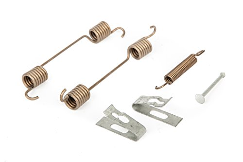 ACDelco 22937746 GM Original Equipment Rear Parking Brake Hold Down Spring Kit with Springs, Pins, and Cups Brake Hold Down Spring