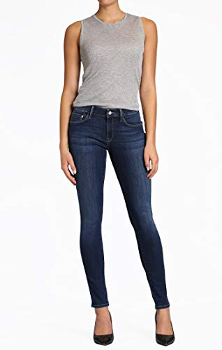 Mavi Women's Alexa Mid-Rise Skinny Jeans, Dark Supersoft, 29W X 30L