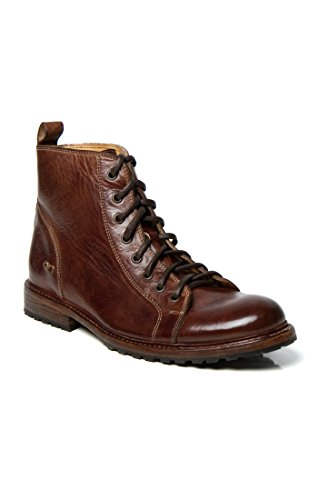 Bed Brown Leather Boot Bowen Men's Stu Dark qrTqU7O