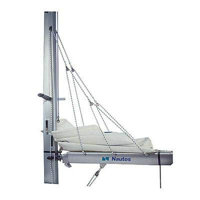 Nautos 003RFS - Lazy Jack Type C - Large Size - 39 to 46 FEET Sailboats - Complete KIT with Rope and 4 Furling Straps (Ropes Masts And Sails Of A Boat)