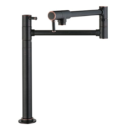 Hansgrohe 04219920 Talis C Pot Filler Deck Mounted, Rubbed Bronze ()