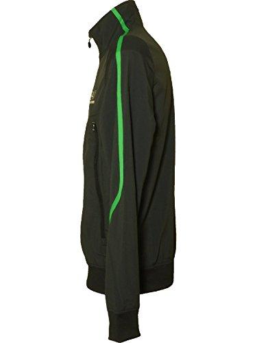 Emporio Armani Herren Trainingsanzug schwarz schwarz