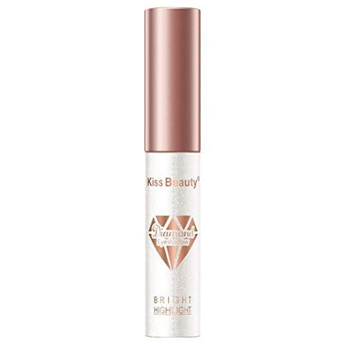 NewKelly Pop Color Liquid Eye Shadow Diamond Pearlescent Color Waterproof Eye Shadow Long Lasting Solution (A) ()
