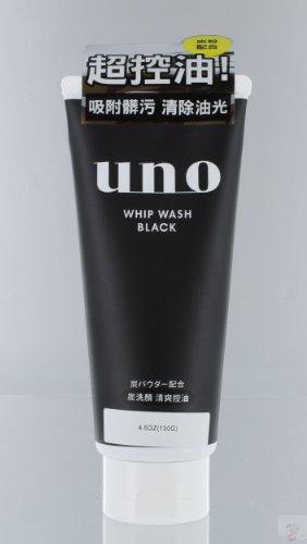 UNO Shiseido Face Whip Wash, Black, 0.5