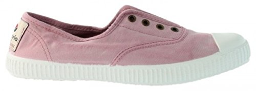 Victoria Womens Canvas Inglesa Elastico Fashion Sneakers Made in Spain Rosa KmHDRMh