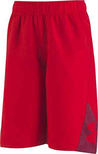 Under Armour Slash Volley Big Boys' Swim Shorts, Apple Red, X-Large ()
