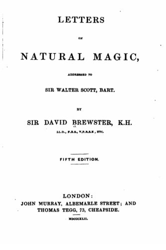 Letters on Natural Magic, Addressed to Sir Walter Scott pdf