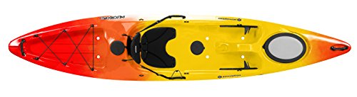 Perception R15 Pescadors 120 Kayak, Red/Yellow
