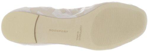 Rockport Dames Daya Print Ballet Flat Tan