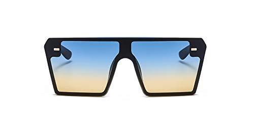 - GFF Oversized Square Sunglasses Men Women Fashion UV400 Vintage Glasses