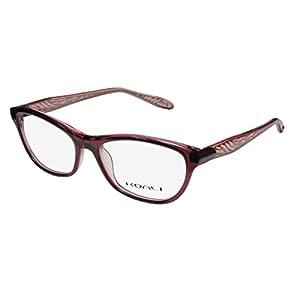 Koali 7447k Womens/Ladies Designer Full-rim Eyeglasses/Eyewear (54-16-135, Mauve / Transparent Blush)