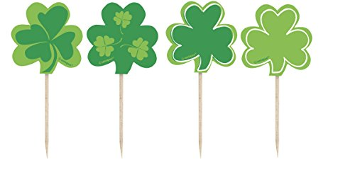 (Saint Patrick's Day Shamrock Toothpicks 8ct)