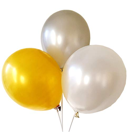 100 12 Inch Pearlescent Latex Balloons