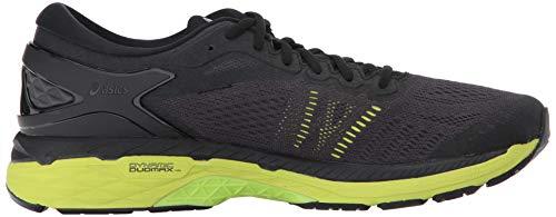 ASICS Mens Gel-Kayano 24 Running Shoe Black/Green Gecko/Phantom 6 Medium US by ASICS (Image #6)