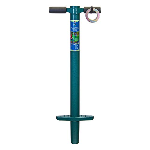 ProPlugger 5-IN-1 Garden Instrument and Backyard Instrument, Bulb Planter, Weeder, Sod Plugger, Annual Planter, Soil Take a look at (Renewed)