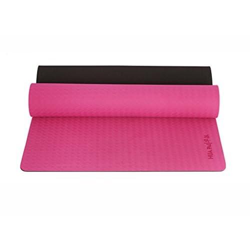 HJHY® Tapis de yoga, débutant insipide anti-dérapant fitness tapis hommes et femmes tapis de danse tapis de yoga Bonne élasticité