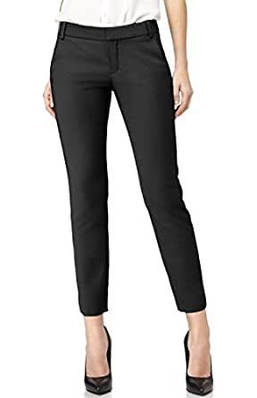 BodiLove Womenu0026#39;s 2LUV Formal Yoga Uniform Dress Ankle Pants At Amazon Womenu2019s Clothing Store