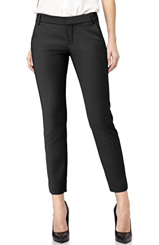 BodiLove Women's 2LUV Formal Yoga Uniform Dress Ankle Pants Black M (YDP3) (Ankle Length Pants compare prices)