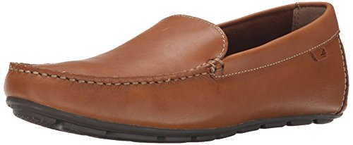 SPERRY Men's Wave Driver Venetian Loafer, Tan, 10.5 (Sperrys Loafers Men)