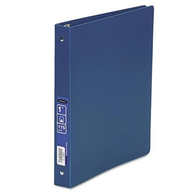 6 Pack - Accohide Poly Ring Binder With 35-Pt. Cover 1'' Capacity Blue ''Product Category: Binders & Binding Systems/Binders''
