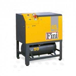 Compresor de aire Insonorisé de pistón sobre depósito de 50 litros ...