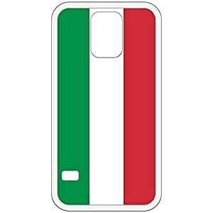 Italy Flag White Samsung Galaxy S5 Cell Phone Case - Cover