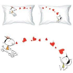 Amazon Com Boldloft Miss You With All My Heart Couple Pillowcases
