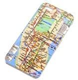 IPHONE 5/5S New York City Subway Map BACK CASE