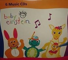 Baby Einstein 6 CD Box Set