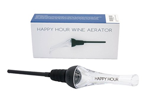 Happy Hour Wine Aerator Decanter - Premium Quality Red Wine Aerating Decanter and Pourer and - Carafe Grapevine