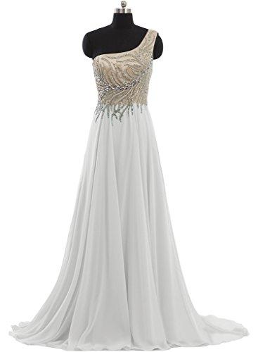 Missdressy - Vestido - para mujer Weiß