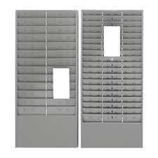 Mmf Time Card (MMF Industries : Time Card/Ticket Message Rack, 12/36/54 Pocket, Gray -:- Sold as 2 Packs of - 1 - / - Total of 2 Each)