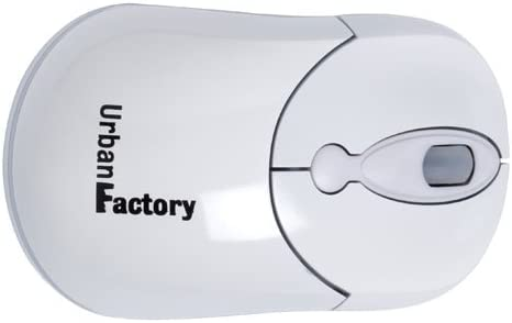 White Urban Factory Crazy Mouse USB 800 dpi