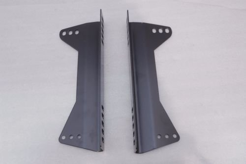 One Pair for One Seat SNC Tuning Universal Side Mount Bucket Seat L Brackets