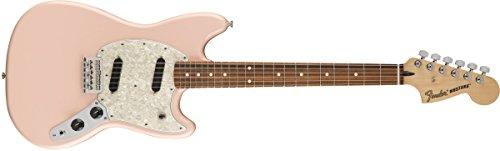 Fender Mustang Electric Guitar (Shell Pink, Pau Ferro Fingerboard)