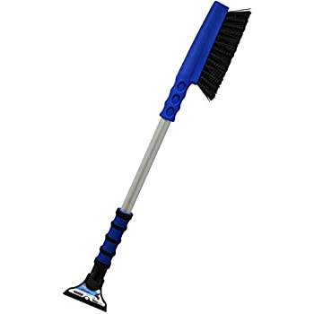 Mallory 989-34 MEGA MAXX 34 Long Reach Snow Brush with Integrated Ice Scraper and Foam Grip Colors may vary