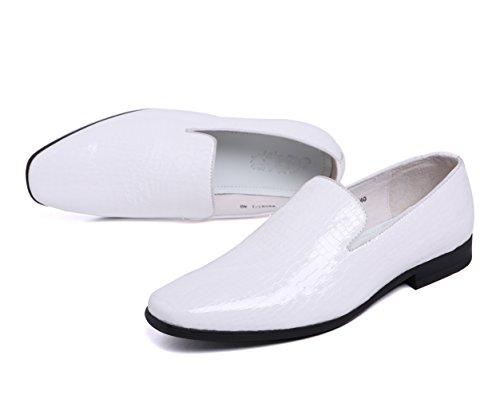 bianco White 43 uomo Insun Sneaker wtqH4nEF