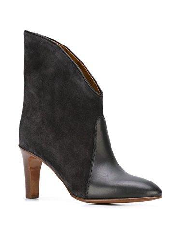 Chloé Mujer CH27307E18IA773 Negro Gamuza Botines: Amazon.es: Zapatos y complementos
