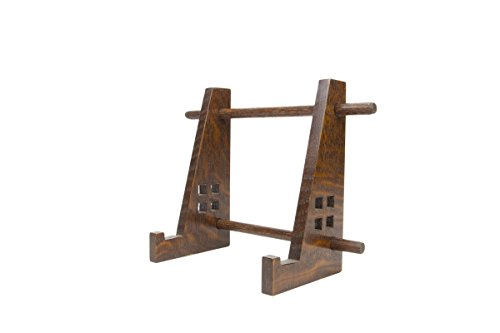 Arts and Crafts Display Easel for Tiles, Plates, or Other from Vollman Woodworking
