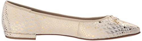 French Sole Fs / Ny Womens Anaconda Ballet Flat Gold