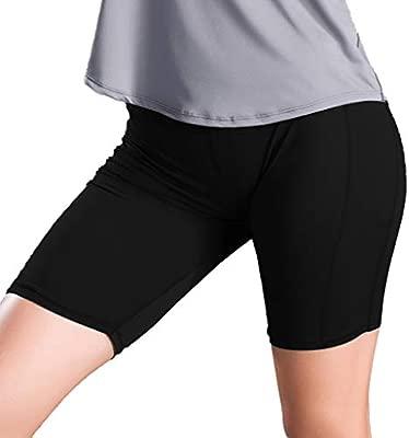 Keepwin Pantalón Corto Deportivo para Mujer Pantalón Corto ...
