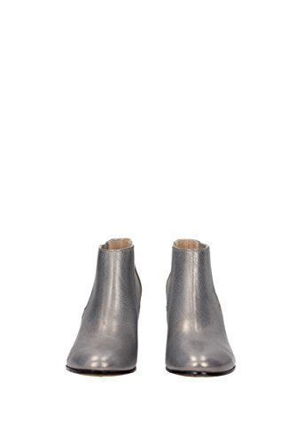 UK G30WS388 Women Dana Boots Goose Leather Golden Ankle Gray qvBwFxU