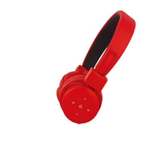 XHKCYOEJ Headset Stereo Headset/Headphones/Headphones/Wire/Music/Music,Gules: Amazon.co.uk: Electronics